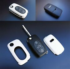 Early Audi Remote Flip Key Cover Case Skin Shell Cap Fob Protection S Line White