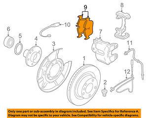 BMW-OEM-12-16-328i-Brake-Rear-Pads-34206873094