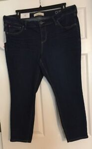 a48a17861992fa Slink Jeans Sonia(Dark Blue) Curvy Ankle Denim Jegging Size 18 20 22 ...