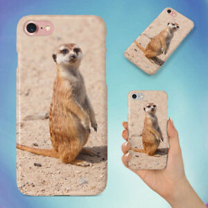 NATURE-ANIMAL-CUTE-STANDING-MEERKAT-HARD-BACK-CASE-FOR-APPLE-IPHONE-PHONE