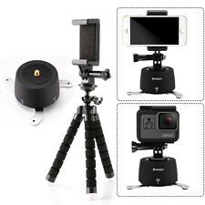 360° Rotating Time Lapse Stabilizer Tripod Adapter Pan for Gopro 4 5 DSLR Phone