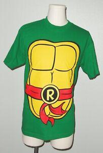 TMNT B teenage mutant ninja turtle MICHAELANGELO costume t-shirt tee L or XXL