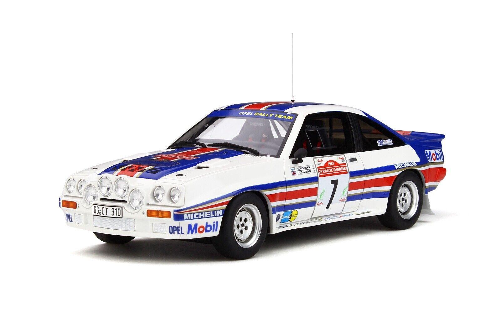 1 18 Otto GT Spirit Opel Manta 400 R Group 1983 San Remo   OT761