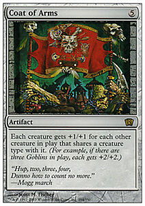 Stemma Araldico - Coat of Arms MTG MAGIC 8E 8th Edition Eng/Ita