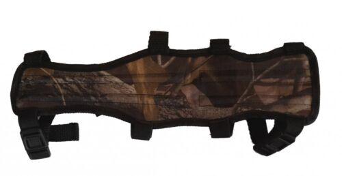 Armschutz f. Bogensport, Ober- und Unterarmschutz, camo BLACK.BULLS