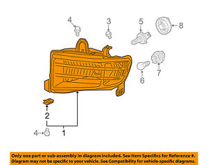image is loading honda-oem-09-14-ridgeline-headlight-head-light-