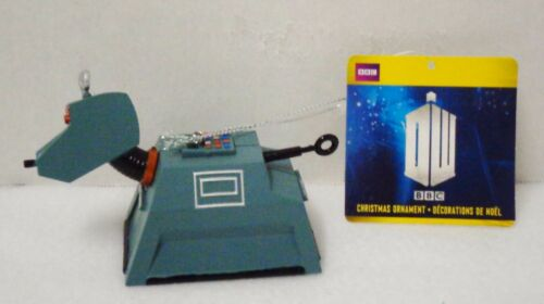 Kurt Adler Dr. Who K9 Christmas Ornament New 1996