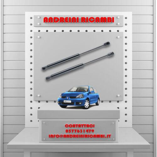 2 PISTONCINI BAGAGLIAIO RENAULT CLIO II VAN 1.5 DCI 59KW 2001-/>2004MG26031