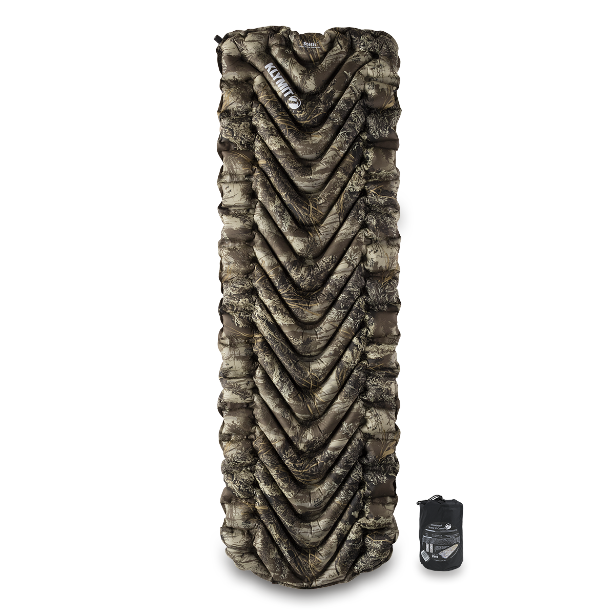 KLYMIT Insulated Static V Kings Camo Sleeping Camping Pad  BRAND NEW