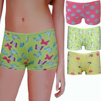6 Stück Kinder Mädchen Pantys//Hipster Unterwäsche Unterhose Baumwolle 104-152