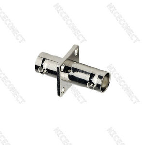 BNC-Jack-to-Jack-female-Panel-Mount-straight-RF-Coaxial-Adapter-Connector