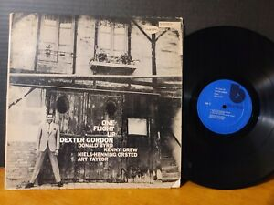 Dexter Gordon - One Flight Up Donald Byrd Art Taylor NHOP Blue Note RVG VG+!!
