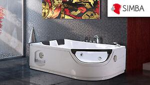 Vasca Da Bagno Angolare 120 120 : Vasca bagno idromassaggio angolare cromoterapia