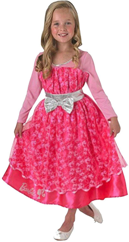 Barbie Pageant Girls Fancy Dress Halloween Costume Age 2-3