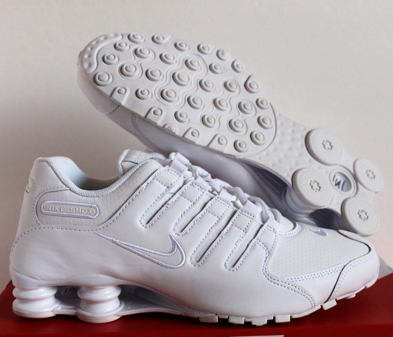 Nike [378341-128] Hombres Shox NZ BLANCO/Blanco [378341-128] Nike a64bde