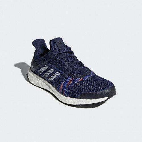 adidas CQ2146 Ultra Boost St SCHUHE blau UK 8 42