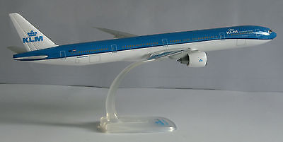 - Klm Royal Dutch Airlines Boeing 777-300er 1:200 Herpa Snap-fit 610872 B777 Nuovo-mostra Il Titolo Originale