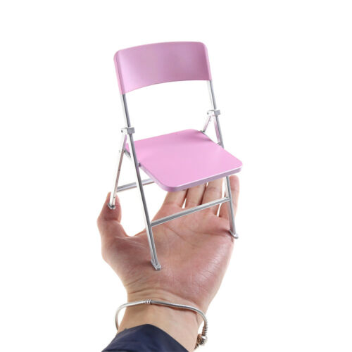 1//6 Scale Min Dollhouse Furniture Folding Chair Toy for Dolls Kid toy gift HP