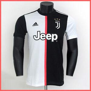 Detalles de Adidas Camiseta Oficial Juventus DW5455 Col. Blanco Negro Campeonato 20192020