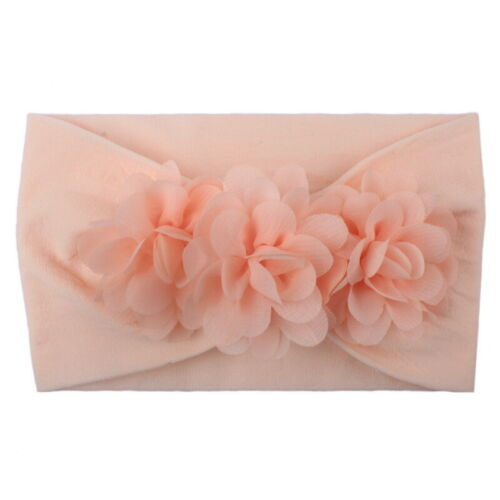 2Pcs Kids Child Infant Girl Hairband Bowknot Elastic  Flower Accessories New