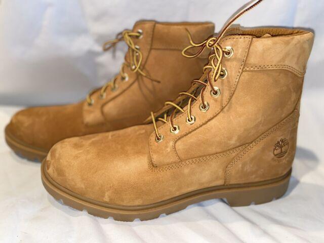 Timberland Mens Size 11 M 6 Inch Waterproof Wheat Leather BOOTS 19079 Work