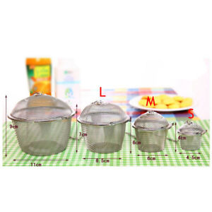 4.5×4cm Tea Ball Stainless Steel Seasoning Infuser Herbs Spice Filter Soup Tools