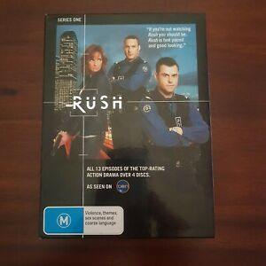 Rush Series 1 (Austn. TV Series) - VERY GOOD - RARE 4-DVDs