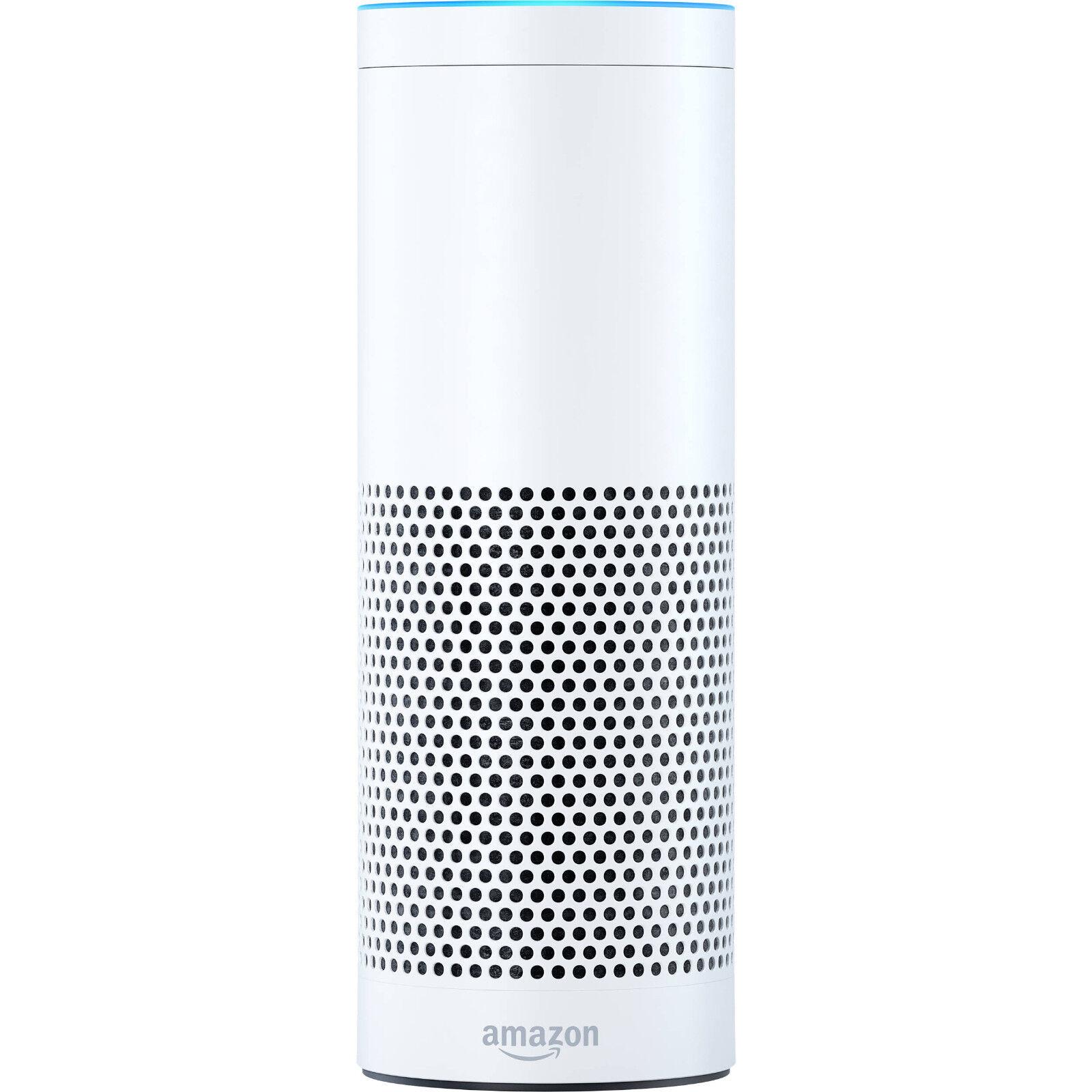 Amazon Echo w  Alexa Voice Control Personal Assistant & blueetooth Speaker, White
