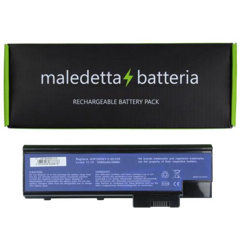 Batteria 10.8-11.1V 5200mAh per Acer Aspire 9410