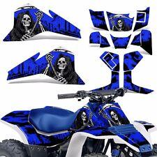 LT80 Graphic Kit Suzuki ATV Decals Sticker Wrap LT 80 Quadsport 87-06 REAP BLUE