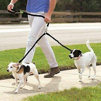 Doppel Leine Hundeleine Für Zwei Hunde Geflochten Nylon Führleine Verstellbar Reines Und Mildes Aroma