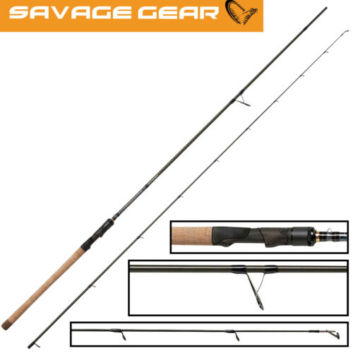 Savage Gear Parabellum CCS Angelrute 2,79m 10-30g Spinnrute zum Zanderangeln