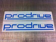 2 x Subaru PRODRIVE Adesivo Decalcomania