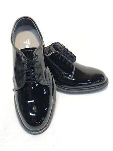 NEW US MILITARY MEN'S 8E WIDE DRESS UNIFORM OXFORD SHOES PATENT LEATHER  BLUCHER | eBay