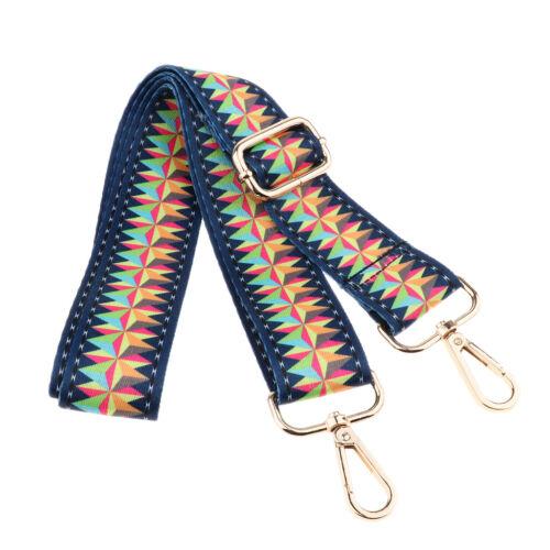 Adjustable Crossbody Bag Strap Replacement Shoulder Belt Strong Swivel Hooks