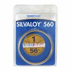 Lucas-Milhaupt 98060 Silvaloy 560 Braze Silver Solder 1oz.