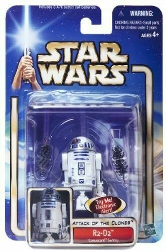 R2-D2 Coruscant Sentry 2002 ATTACK OF THE CLONES Attack of the clones STAR WARS SAGA #14