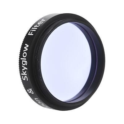 0,6 mm pour oculaire de t/élescope Coupe la Pollution Lumineuse Violet Clair Filtre Sky Glow//Moon 1,25avec Filetage Standard M28 Filtre Lunaire 1,25 Pouces