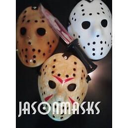 Jason Voorhees VINTAGE STYLE MASK HOCKEY HALLOWEEN MASK
