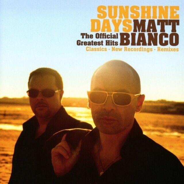 MATT BIANCO - SUNSHINE DAYS-THE OFFICIAL GREATEST HITS   CD NEU