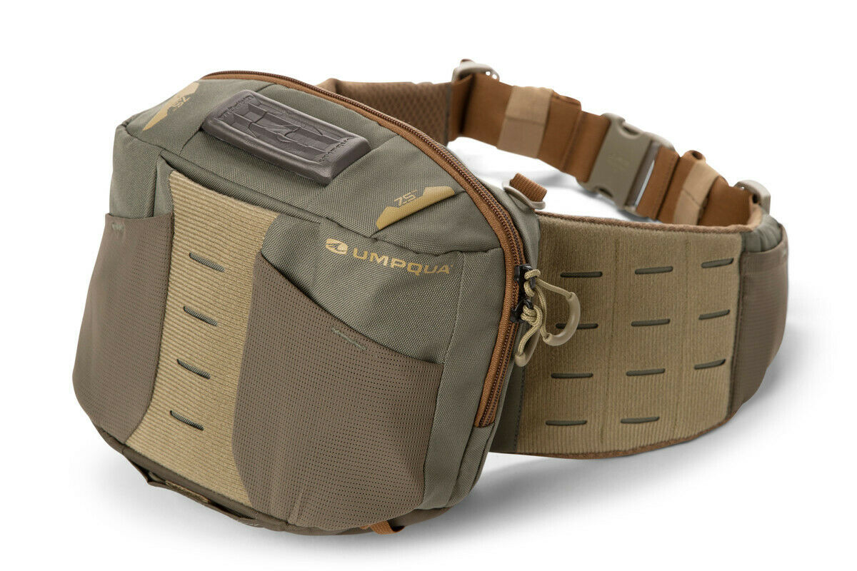 nuovo UMPQUA ZS2 LEDGES 500 WAIST PACK IN OLIVE Coloreee WITH gratuito USA SHIPPING