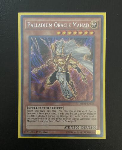 YUGIOH Palladium Oracle Mahad 1st Edition SECRET RARE MVP1-ENS53 NM