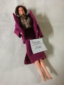 Chemisier A Et Taiwan 1966 Tailleur Barbie CarreauxEbay Prune u1KcTFJ5l3