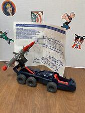 1987 Hasbro Gi joe Cobra Wolf partie avant skis Ski