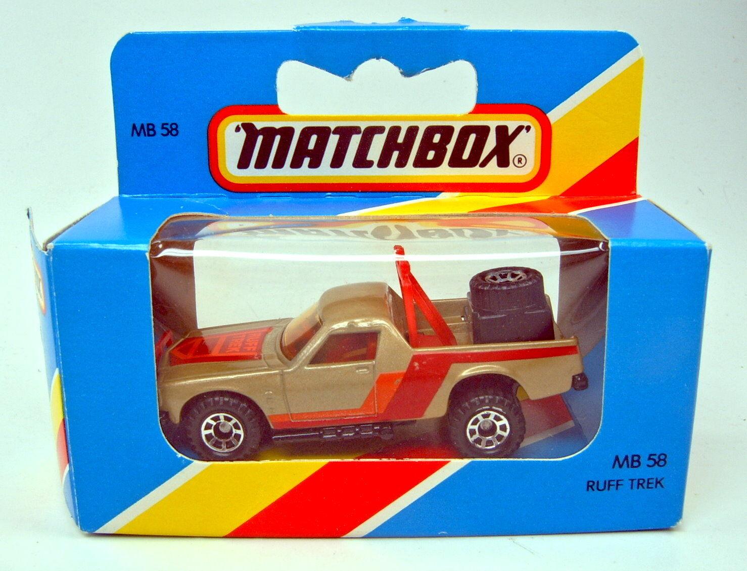 Matchbox Superfast Nr.58D Ruff Trek brown neu in  England    Box