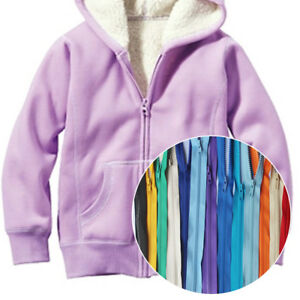 Colorful-Chunky-Plastic-Teeth-Zip-Zipper-Open-End-For-Coat-Jacket-Accessories