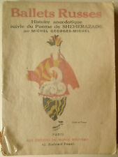 Ballets Russes, Tanz, Theater, Russisches Ballett, Sheherazade, Ballett,