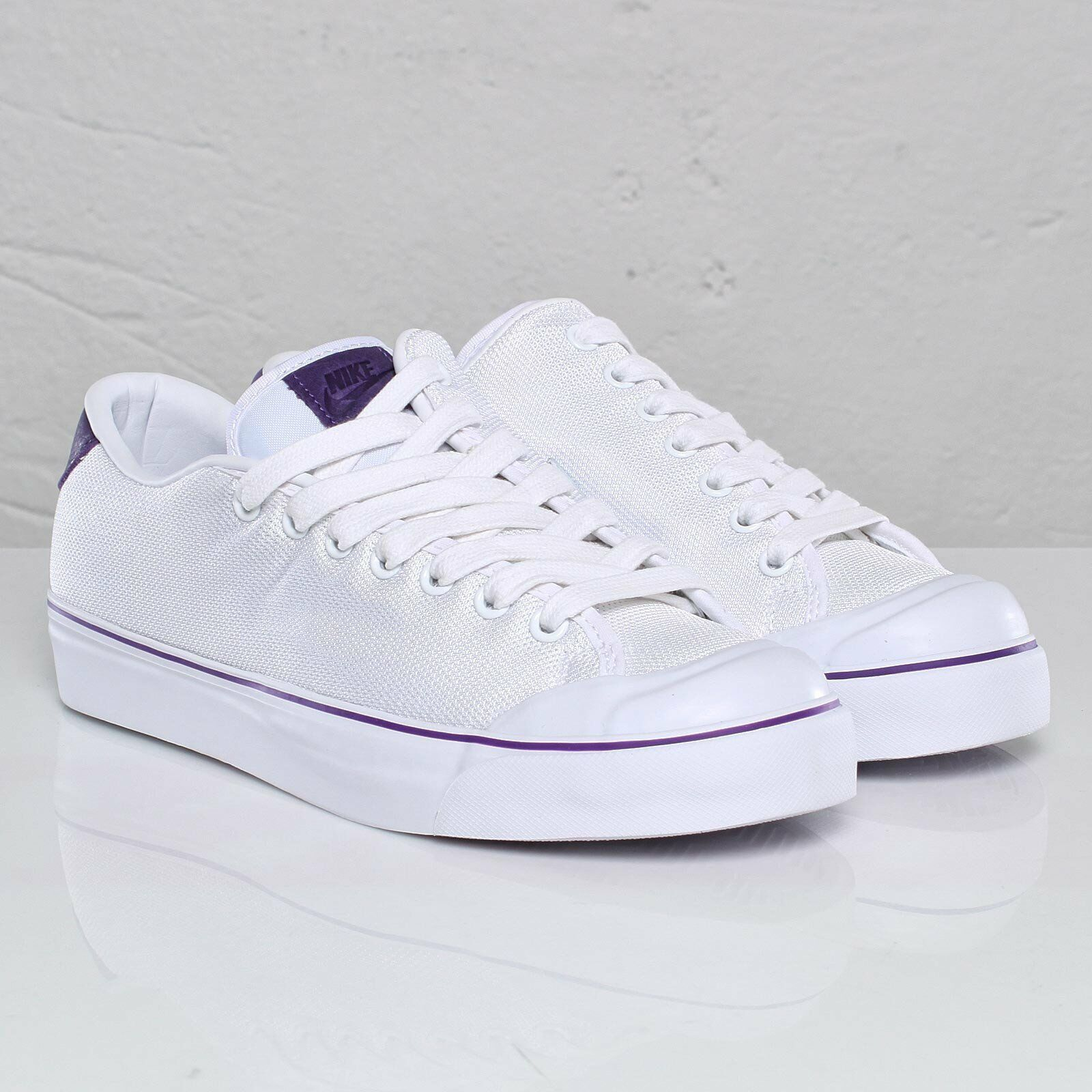 Nike White/Purple ALL COURT TWIST Neu Gr:46 US:12 White/Purple Nike Sommer Sneaker Capri flash c535a6