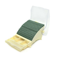 Dental Bur Block Holder Station With Pull Out Drawer Holds 142 Burs Fgra