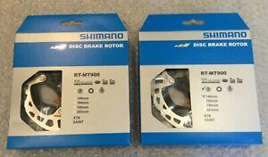 Shimano XTR RT-MT900 140MM Centre lock disc rotors Pair Dura Ace, Ultegra, 105